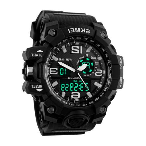 Men's Digital Wrist Watch Diving Analog Watches