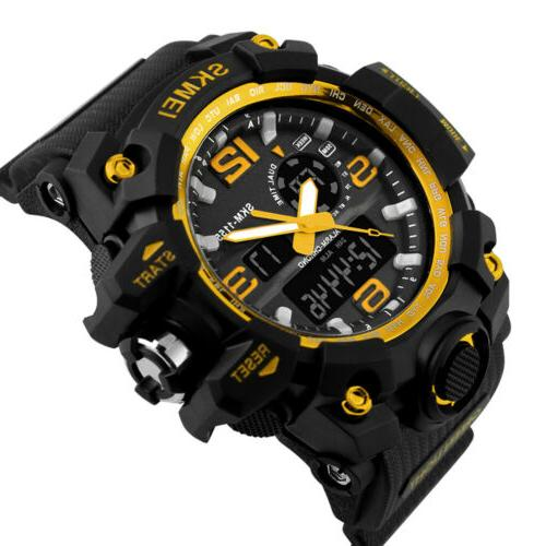 Men's Sport Digital Watch Analog Watches