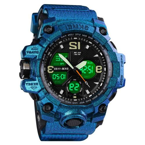 men s sport digital wrist watch diving