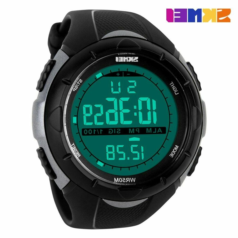 SKMEI Diving 50m Military Casual Electronic Watch