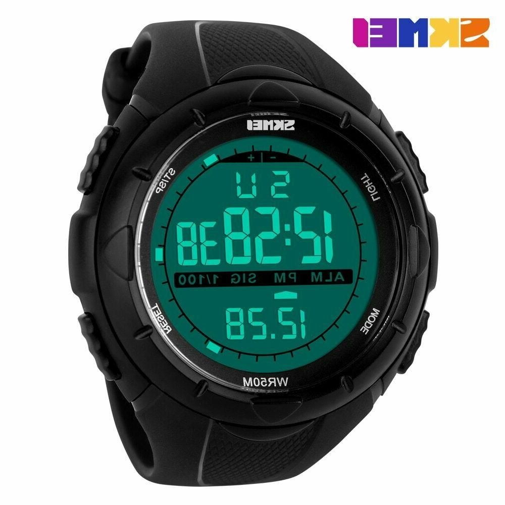 SKMEI Watch Diving LED Military