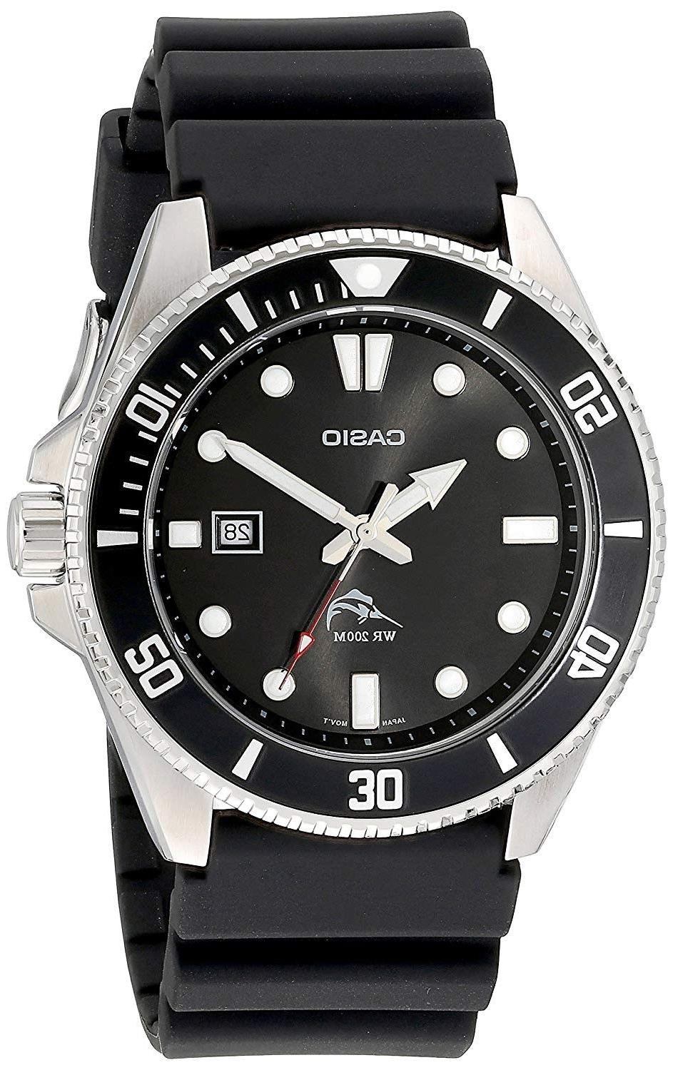 men s stainless steel dive style watch