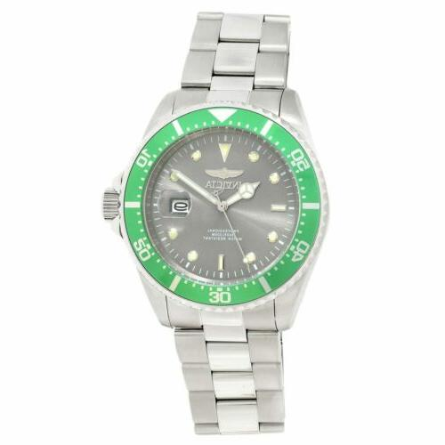 Invicta Watch Diver Dive Grey Stainless Steel