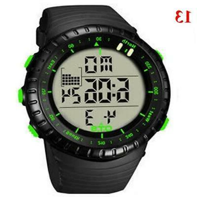 OTS Men's Digital Watch Men 50M W