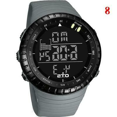 OTS Men's Watches Digital Men 50M Waterproof Diving Electronic W