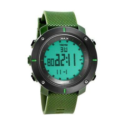 men sports diving watch 30 meters electronic