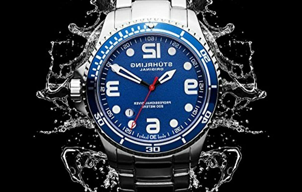 "Stuhrling Original Mens Grand Regatta"" Steel Profession"