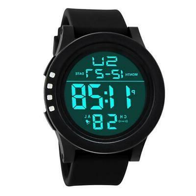 Mens Sports Watches Watch Dive 50M Waterproof