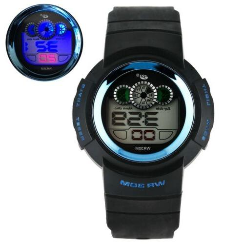 outdoor electronic digital sports watch for students
