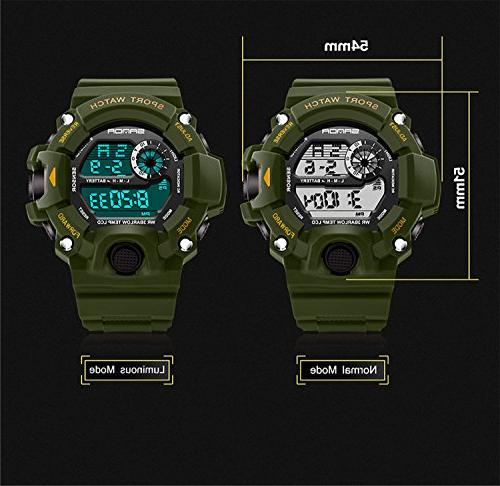 Wdnba Mens Watch Dive Digital Watches