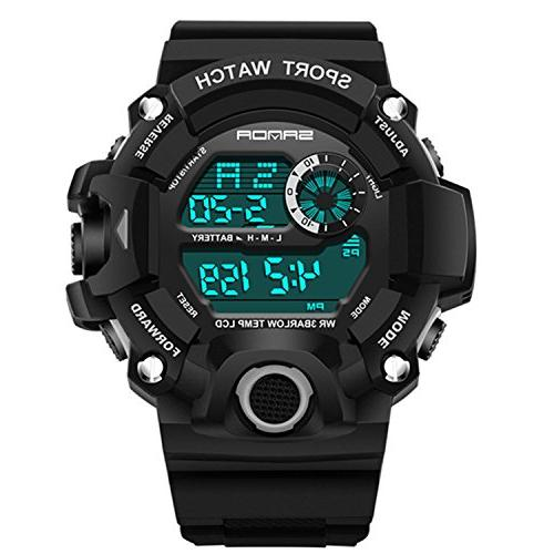 Wdnba Watch Quartz Watch Military Watch Fashion Dive Men's Sport Digital Watches