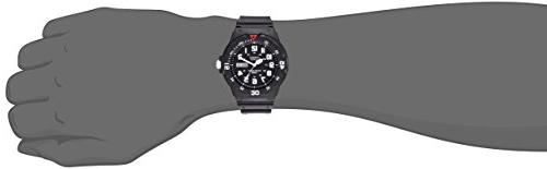 Casio MRW200H-1BV Resin Dive Watch