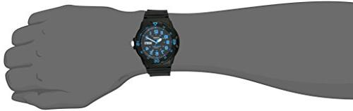Casio Unisex Black Resin Band