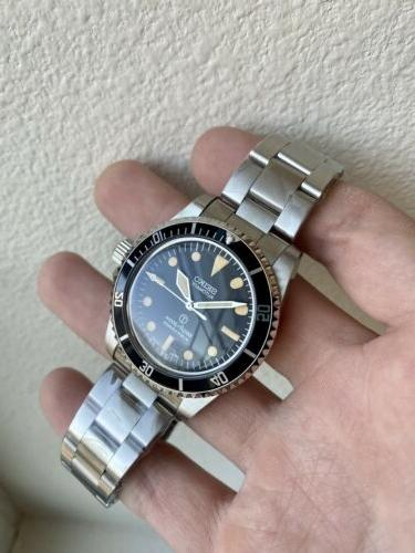 NEW! Seiko Mod Submariner Dive Watch Automatic 5513 SKX