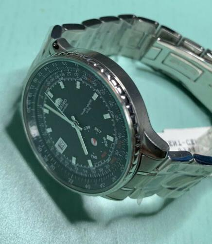 New Orient Automatic Watch CEM5Z008BS Stainless Steel