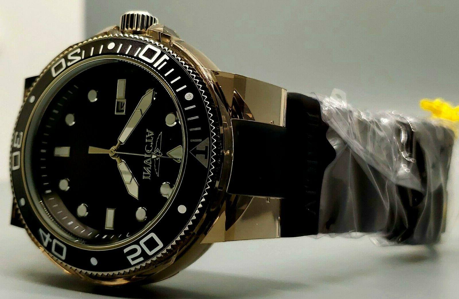 New Diver Transparent Case Silicone Watch