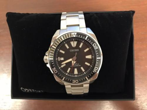 New SAMURAI PROSPEX DIVE WATCH STAINLESS