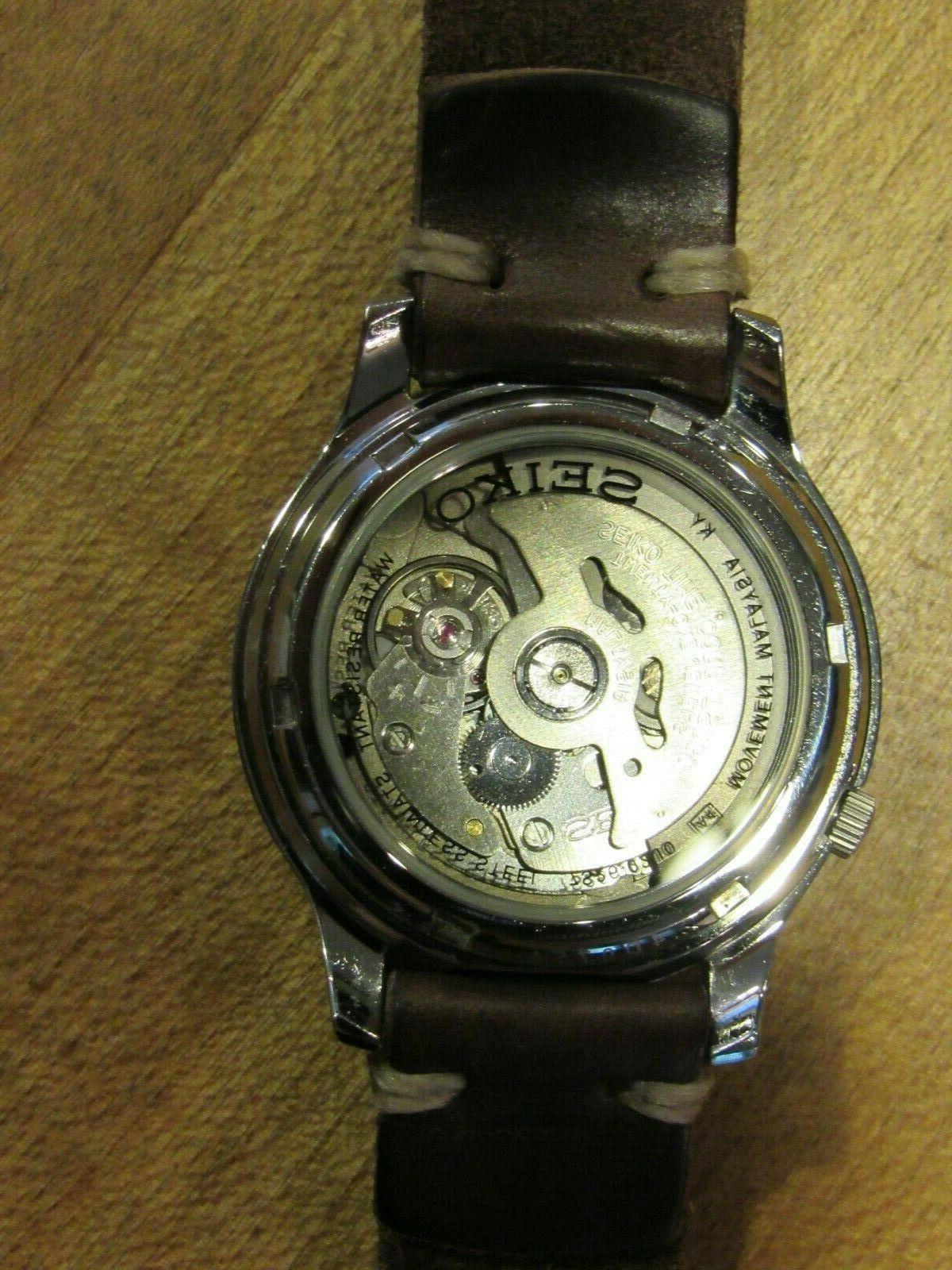 NOS DIVER AUTOMATIC MODIFIED by Supply Co. NY AVIATOR Exhib
