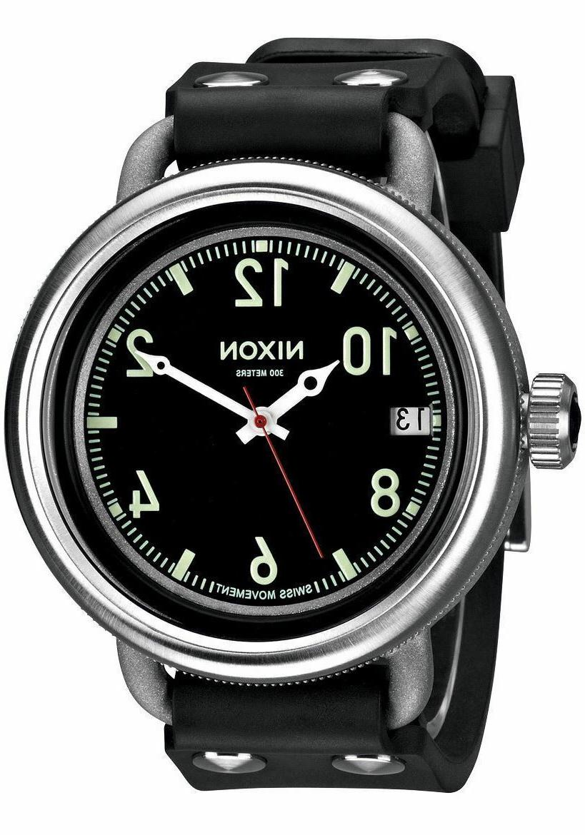 october a488000 black rubber swiss