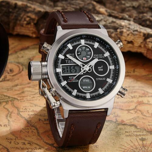 Original AMST Watches Mens Dive Sports Military