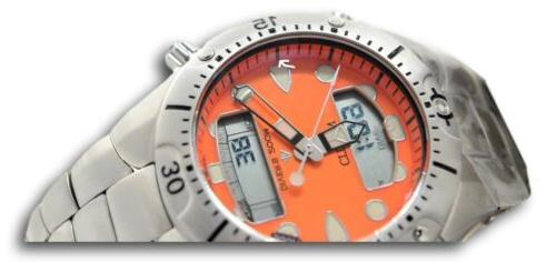Citizen Promaster Orange Quartz Watch