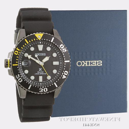 Seiko Diver Black Watch SNE441