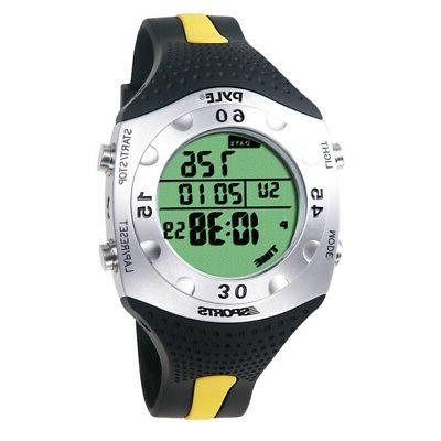 Pyle Sport PSWDV60Y New Dive Meter Watch W/ Dive Log Chronog