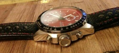"Rare Fossil Chronograph Quartz Mens DIVE Watch ""INCREDABLE"""