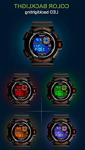 Fanmis Multi Digital Water Resistant Electronic Watches