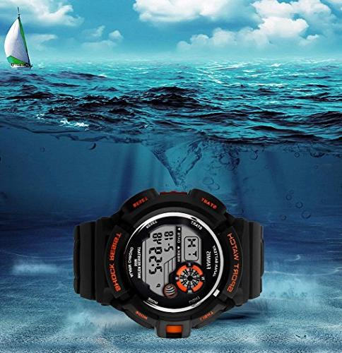 Fanmis S-Shock Multi Function Digital LED Quartz Water Electronic Sport Watches