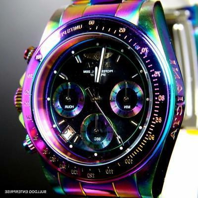 Invicta Speedway Iridescent 40mm Watch New