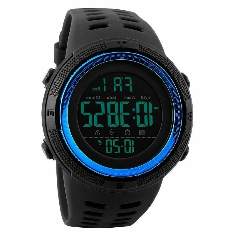 Sports Watches Digital LED Casual Electronics Military