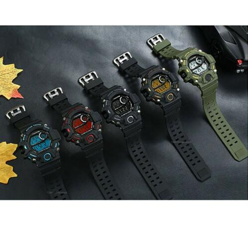 Sports Watches Military Women LED Digital