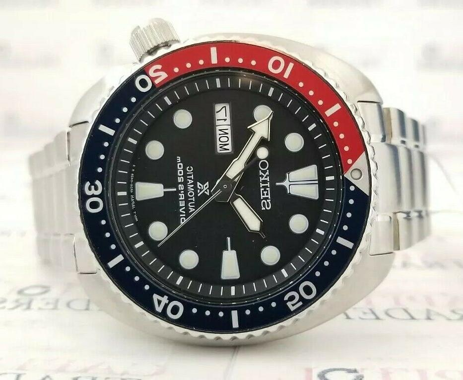 Seiko SRPA85 Men's 44mm Pepsi Dive NEW