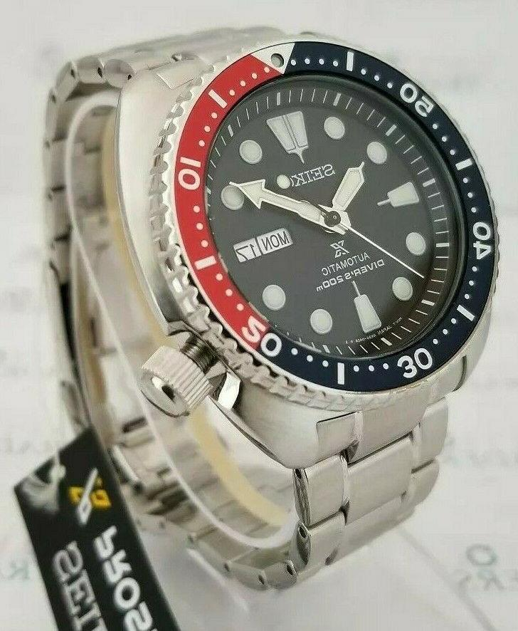Seiko Air Prospex Men's 44mm S/Steel Pepsi NEW