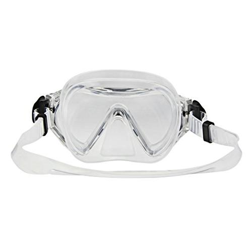 Girls Swimming Waterproof Mask Anti Fog UV Protection No Glasses Child Swimming Snorkeling Swimming Diving Accessories