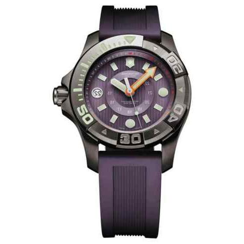 swiss army 241558 purple rubber