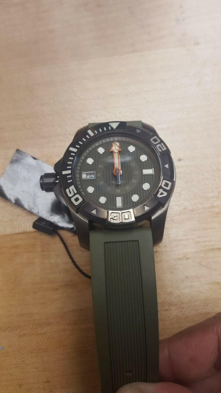 Victorinox Army Dive Master 500 Olive Green Men's Watch 241560 $795
