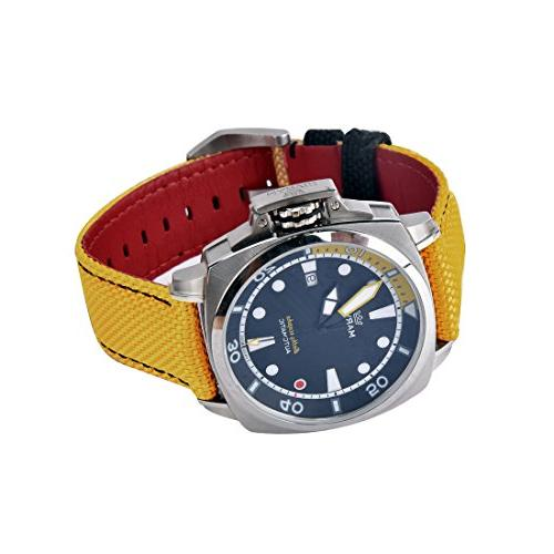 Marvin Pro 200m for Watch with and Yellow Nylon