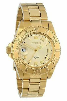 women s angel 14321 gold stainless steel
