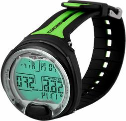 Cressi Leonardo Underwater Diving Computer Watch Lime Black