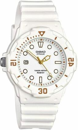 Casio Women's LRW200H-7E2VCF Dive Series Diver-Look White Wa
