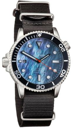 Deep Blue Master 1000 Foot Diver Automatic Dive Watch- Nylon
