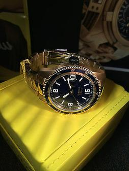 "Invicta Men's 14122 ""Pro Diver"" 18k Gold Ion-Plated Automati"