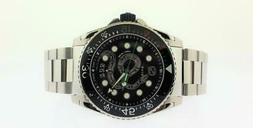 men s dive stainless steel snake watch