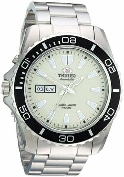 Orient Men's Mako XL Japanese Automatic Stainless Steel Divi