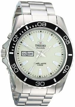 Orient Men's 'Mako XL' Japanese Automatic Stainless Steel Di