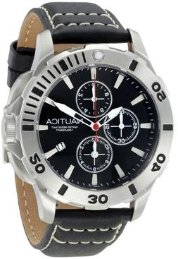 """Nautica Men's N18641G Bfd 101 """"Dive Style"""" Stainless Steel C"""
