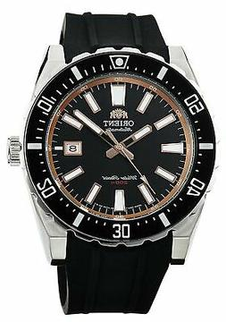 Orient Men's Nami Automatic Stainless Steel & Rubber Diving