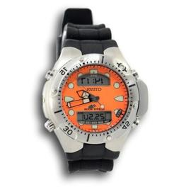 Citizen Men's Promaster Aqualand JP1060-01Y Orange Rubber Qu